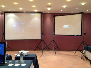 Noleggio schermi e proiettori a Padova per i tuoi eventi - Viola Production Srl