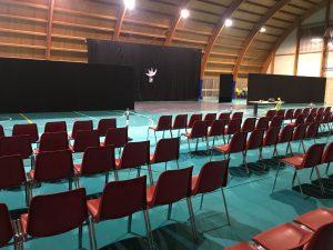 Noleggio fondali per palcoscenico e quinte a Padova - Viola Production Srl