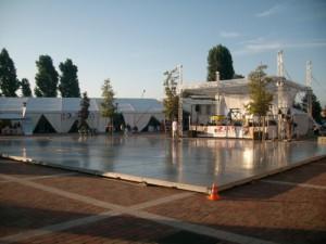 Noleggio piste da ballo modulari Padova per eventi - Viola Production Srl