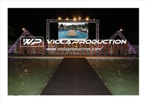 Noleggio palchi e passerelle a Padova - Viola Production Srl