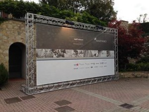 Struttura di supporto per scenografie a Padova e provincia - Viola Production Srl