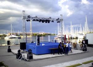Noleggio struttura palco base a u a Padova e provincia - Viola Production Srl