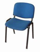 VIOLA 1 - sedia imbottita blu