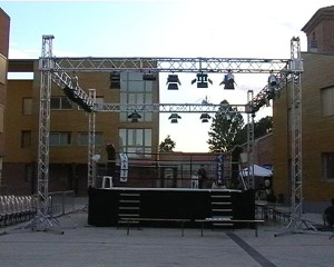 Struttura a ring in americana per eventi a Padova - Viola Production Srl