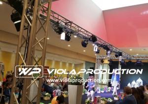 Sfilate presso centri commerciali - service audio, luci e video per eventi - Padova