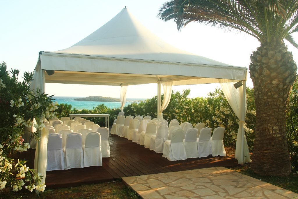 Matrimonio: gazebo cerimonia e festa
