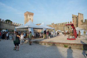 Gazebo per festa medievale - service audio, luci e video per eventi - Padova