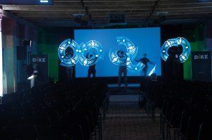 Allestimento per lancio nuovi prodotti - service audio, luci e video per eventi - Padova